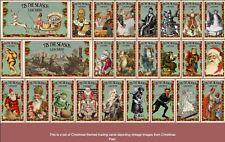 "2020 LJACards ""Tis the Season"" History of Christmas Trading Cards ACEO"