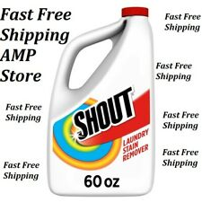 Shout Triple-Acting Refill, Laundry Stain Remover, 60 Ounce Fast Free Shipping