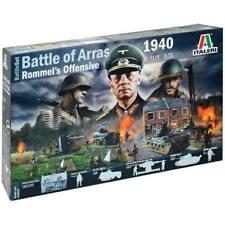 Italeri 6118 Battle of Arras 1940 1/72 Scale Plastic Model Kit Set