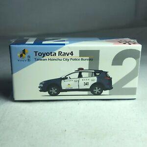 1/64 TINY DIE-CAST - Toyota Rav4 Taiwan Hsinchu City Police Bureau ATC64326