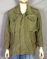 vtg 60s Vietnam War era US Army DSA 1969 Sateen Field Jacket OG-107 Bonham M sht