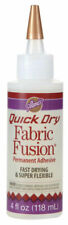 Aleene's Quick Dry Fabric Fusion Permanent Adhesive Fast Drying Flexible Glue