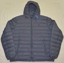 New XXL 2XL POLO RALPH LAUREN Mens packable puffer down winter jacket coat gray