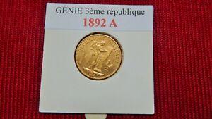 GENIE Troisième république 1892 A