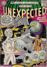 """DC (1957)THE UNEXPECTED#18 - Oct - """"The Man Who Collected Planets"""" -- 4.0 VG"""