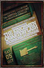 Kingsmen Jack Ely / Quarterflash / Richmond Fontaine Poster 13 Portland Concert