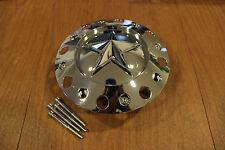 "KMC XD Series Rockstar Chrome Center Cap 1000775     ( 2 3/4"" Tall Posts )"
