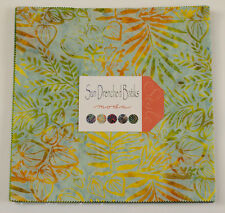 "Moda FABRIC Layer Cake ~ SUN DRENCHED BATIKS ~   42 - 10"" squares"