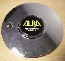 ALBA CHROME Wheel Center Cap Caps (1)