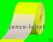 FR3500Y, 500 3x5 Yellow Fluorescent Color Code Label