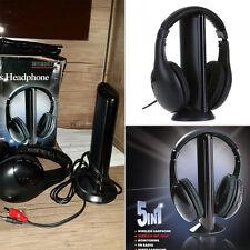 Cordless Headphone Headset Earphone For PC TV Radio Wireless Headphone
