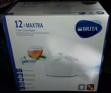 12 maxtra Brita water filter cartridges BRAND NEW BOXED 12 IN BOX FREE UK POST