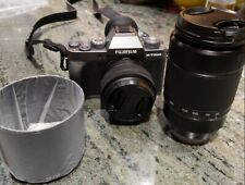 Fujifilm X-T200 24.2MP Mirrorless Camera w/2 zoom lenses (15-45mm and 50-230mm)