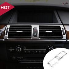 FOR BMW X6 E71 08-14 / X5 E70 08-13 Interior Central Air Vent Outlet Cover Trim