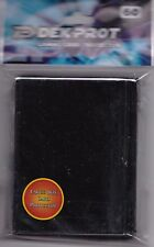 DEK PROT CARD SLEEVES MIDNIGHT BLACK FOR POKEMON MTG