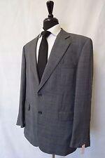 Men's Aquascutum Grey Checked Wool Sports Jacket Blazer 44R CC5540