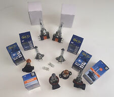 10 x LAMPES COMPLET PHARE AVANT VW GOLF VI GTI GTD H7 H15 W5W PSY24W H8