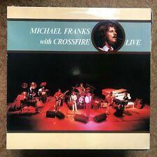 MICHAEL FRANKS WITH CROSSFIRE LIVE 1980 JAZZ FUNK FUSION VINYL LP
