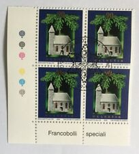 4 timbres suisses YT CH1739, Zum CH1072 se tenant FDC
