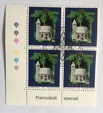 4 timbres suisses YT CH1739, Zum CH1072 se tenant oblitérés 1er jour
