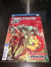 Teen Titans #12 2nd printing.Metal Tie-In. Batman who laughs 1st appearance