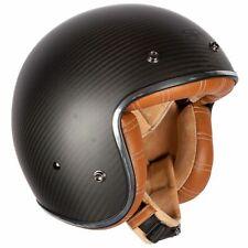 Spada Dark Star Carbono Motocicleta Moto Casco de Cara Abierta-interior tan