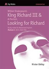 HSC English Top Notes study guide King Richard III & Looking for Richard