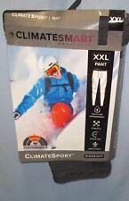 CLIMATESMART~XXL 44 46~Men's Dark Heather Grey ClimateSport Baselayer Pants