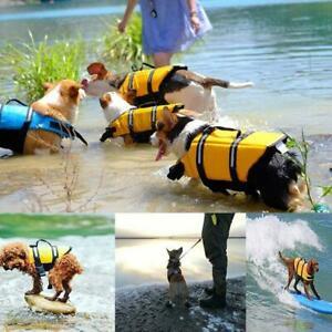 Dog Life Jacket Summer Printed Pet Life Jacket Dog Dogs W1D9 Bathing Safety N3Z8