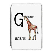 "G Is for Giraffe Case Cover for Kindle 6"" E-reader - Funny Alphabet Cute Animal"