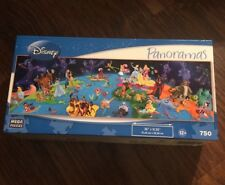 Disney Panoramas 750 Piece Puzzle Called World Of Disney