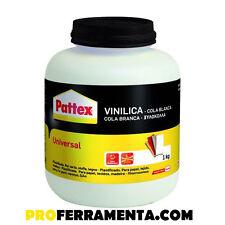 COLLA VINILICA PATTEX KG.1 (TIPO VINAVIL) PER LEGNO CARTA SUGHERO CARTONE VINIL