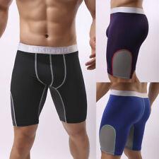 Men's Long Underwear Boxer Shorts Body Sculpting Sport Pants