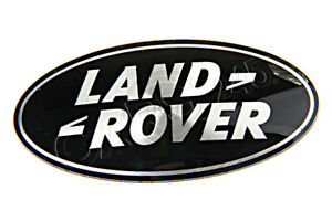 Genuine LAND ROVER Range Rover Supercharged Grill Badge Black & Silver DAG500160