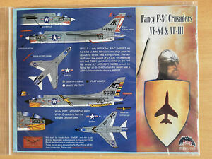 F-8C Crusader 1/32 - OOP ZOTZ decals (VF-111 and VF-84)