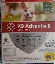 K9 Advantix Ii Topical Small Dog Flea & Tick Treatment, Pack of 4