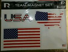 USA Country Magnet Die Cut Sheet Set Of 3 versions Of The USA Flag Buy More Save