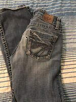 Buckle BKE Denim Culture Womens Jeans Size 26 x 29.5 Boot Cut, distressed
