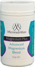 Blend of 5 Forms of Magnesium Powder 150g - 30 Serves - Ultra Strong, Best Taste