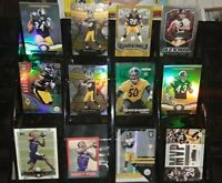 Steelers lot RC Prizm rookie Ryan Shazier Troy Polamalu Leveon Bell Color Burst
