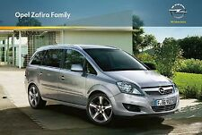 Opel Zafira Family 08 / 2013 catalogue brochure polnisch polonais