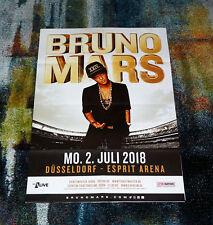 """Konzertposter  """"BRUNO MARS"""" Düsseldorf 02.07.18"""