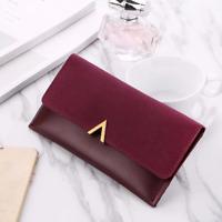 2018 New Female Wallet PU Leather Women Wallets Ladies Long Design Hasp Zipper P
