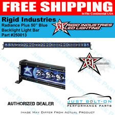 "Rigid Industries Radiance Plus 50"" Blue Backlight Light Bar 250013"