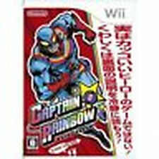 Captain Rainbow Nintendo Wii Import Japan