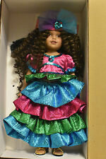 Global Friends! Brazil Carnival Camina Doll! With Brazil Panorama Playkit!