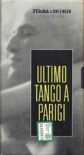 Ultimo tango a Parigi - VHS EDITORIALE L'UNITA' e RICORDI USATA