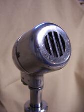 Vintage EV Electro Voice chrome art deco microphone head AS IS, BAD ELEMENT