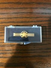 Vintage 10K Gold Goodyear Wingfoot 15 Years Employee Service Pin Tie Clasp