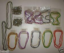 Lot revendeur/déstockage bijoux 13 blisters collier perles lot N°32